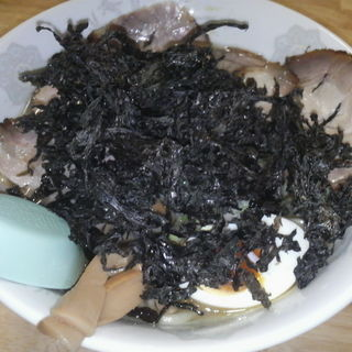 岩のり塩チャーシューメン(普通盛り 200g) (麺屋たかはし )