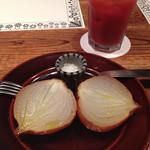 有機玉ねぎのオーブン焼き
