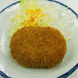 肉コロッケ(酒房 半田屋 新世界店 )