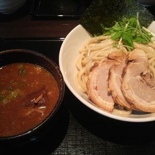つけ麺(中盛 240g)+チャーシュー (ブラウン)