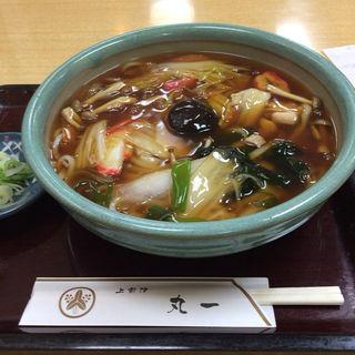 あんかけうどん(手打麺舗丸一 )