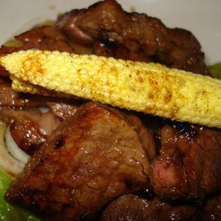 極上黒毛和牛フィレ肉の網焼き(洋食katsui)