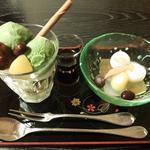ミニパフェ&ミニ白玉セット