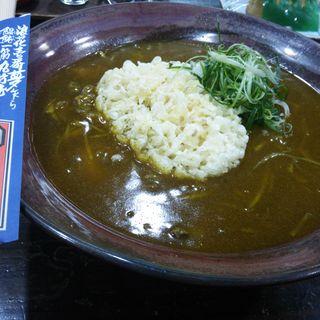 えひ天カレー(山商饂飩店)