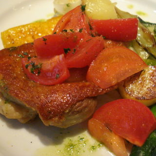 鶏もも肉のコンフィー(トレド )