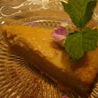 トウフのベイクドチーズケーキ(パプリカ食堂ヴィーガン )