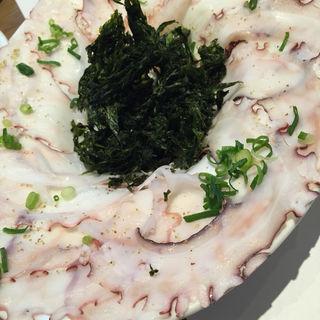 タコのカルパッチョ(コメスタ 三井ガーデンホテル柏の葉 (Comesta))