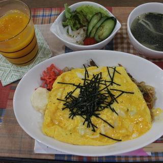 日替りランチ(オムそば)(cafe koume)