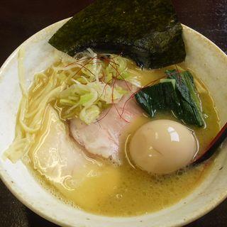 鶏白湯 塩らーめん(麺屋 味翔)