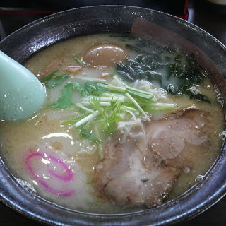 鮪塩味玉(細麺)
