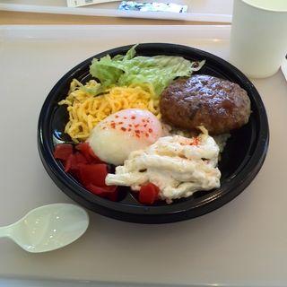 えのすい丼ロコモコ(湘南カフェ)