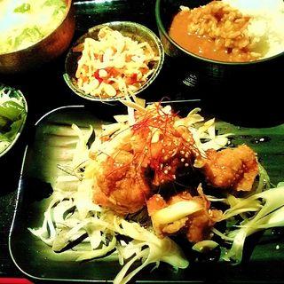 満月からあげ 油淋鶏ソース(博多満月 東陽町店 )