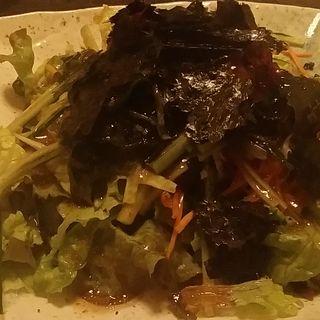 海藻チョレギサラダ(エビス鹿島田総本店)