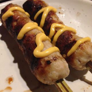 串焼 つくねチーズ(とりでん 桂五条店 )