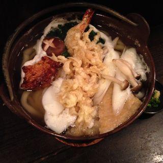 鍋焼きうどん(しんと (心人 SHINTO))