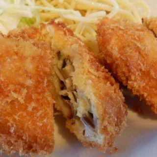 ホタテフライ定食(ひらおか)