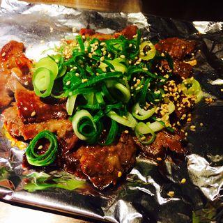 漬け込み牛ハラミの鉄板焼き肉(京ちゃばな 南新町店 )
