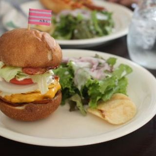 ハンバーガーset(n.b.cafe)