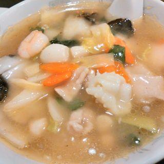 五目塩ラーメン(中華料理 唐園 )