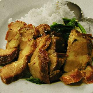 叉焼飯(慶楽)