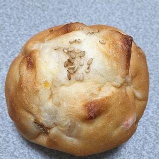 きんぴらごぼうパン(ムクの木ベーカリー )