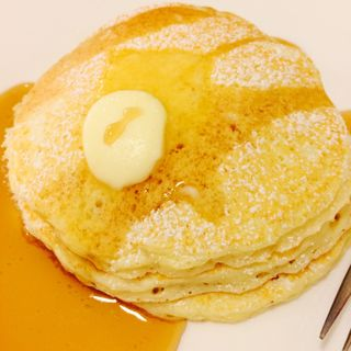 プレーンパンケーキ(Honey Hunt Café )