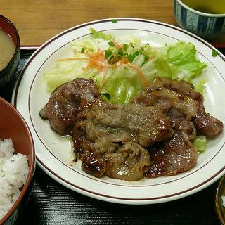 生姜焼ライス(中村家)