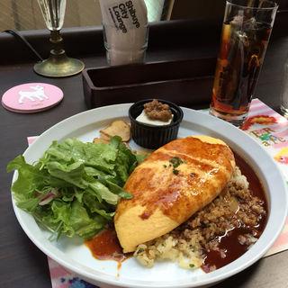 海老と大葉の和風オムライス(渋谷シティラウンジ (Shibuya City Lounge @SHIBUYA LOFT))