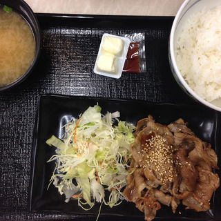 カルビ定食(吉野家 134号線江ノ島店)