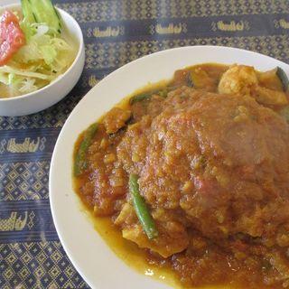 野菜カレーセット(AsianCafe BHojan ボージャン)