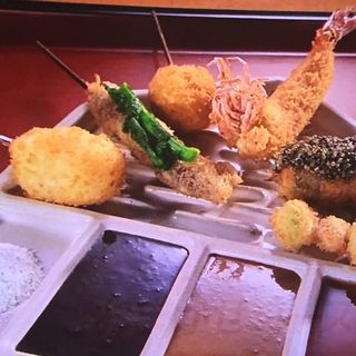 串 おまかせコース(串処 最上 北新地店)