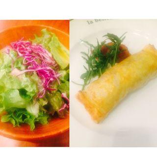 豚肩肉とポルチーニ茸のラグーのパイ包み(La bellezza (ラ ベレッツァ))