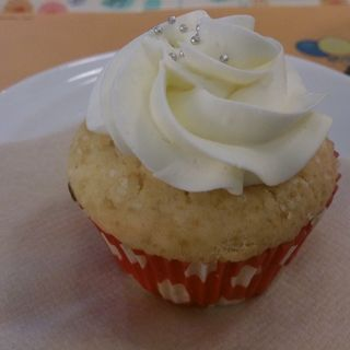 プレーンカップケーキ(デンマーク・ザ・ロイヤルカフェテラス )