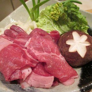 和牛 すきしゃぶ定食(上月 )