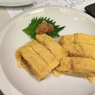 だし巻き卵(小料理・鮨 だいわ 平野町店 )
