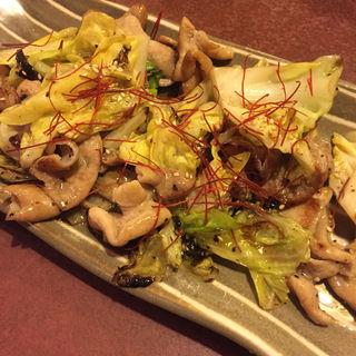塩モツ炒め(寿司居酒屋 七福 武山店)