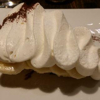 バナナクリームケーキ(Brooklyn Parlor OSAKA)