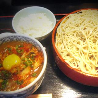 キムチカレー蕎麦(大盛)(長生庵)