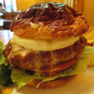 ハンバーガープレートランチ