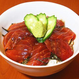 マグロ漬け丼(A' BBQ 小岩店 (エー バーベキュー コイワテン))