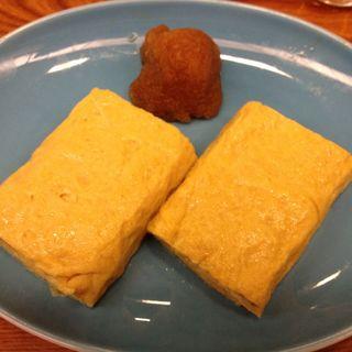 卵焼き(総本家更科堀井 本店 (そうほんけさらしなほりい))