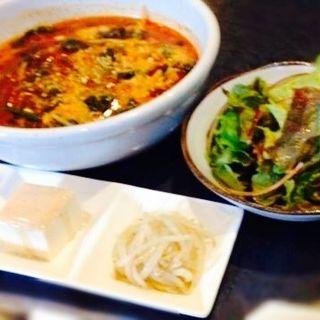 ユッケジャンスープセット(焼肉じゅうじゅう百)