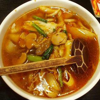 麻辣牛肚刀削麺(純四川風居酒屋 張之家)