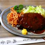 ハンバーグライス(桃乳舎)