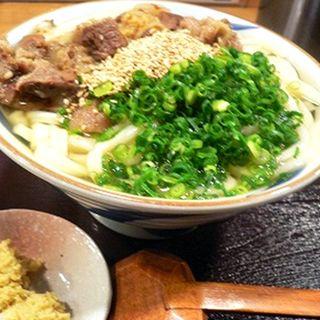 肉芝うどん(うどん酒場 肉芝 )