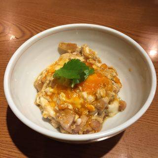 地鶏すき焼き2人前(〆の親子丼)(焼鶏あきら 中目黒本店 (やきとりあきら))