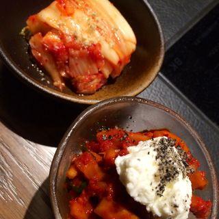 トマトキムチ リコッタチーズ添え(銀座MUN (ムン))