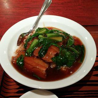 角煮丼(蓬莱春飯店 (ホウライシュンハンテン))