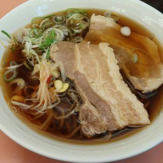 角煮そば(品川23号そば店 (【旧店名】常盤軒))
