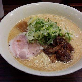 豚鶏節ラーメン(会)
